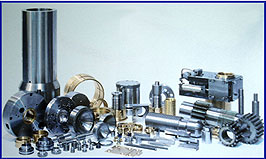 large inventory of press parts and assemblies